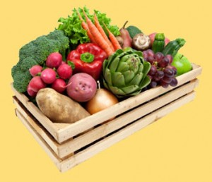 image of a produce box