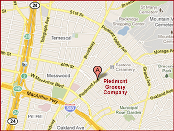 Piedmont Grocery Hours and Location