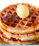Waffles Two Ways or The Great Waffle Debate