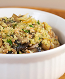 Farro with Wild Mushrooms and Herbs