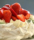 Birthday Strawberry Pavlova Recipe