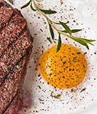 Steak and Eggs with Smoked Paprika