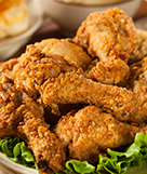 Southern Fried Chicken and Ranch Potato Salad