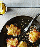 Canal hous Chicken Thighs with Lemon
