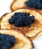Caviar with Blini