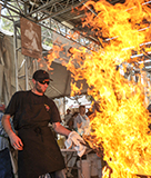 Gilroy Garlic Festival Pyro