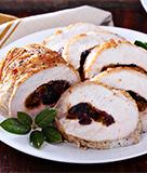 Stuffed Roast Pork Loin with Figs