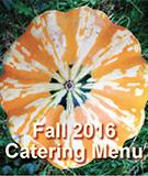 Fall Catering Menu