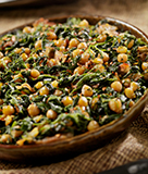 Spanish Chickpea Stew with Kale and Salt Pork