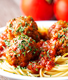Amy's Spaghetti and Meatballs