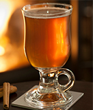 Hot Gingery Cider with Cracked Black Pepper