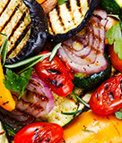 Weeknight Favorite Grilled Mixed Vegetables