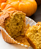 Pumpkin Spice Maple Muffins