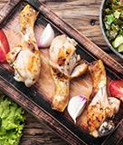 Killer Peruvian Chicken with Cilantro Sauce