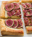 Fig, Ricotta, and Goat Cheese Tart