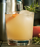 Rosemary and Maple Bourbon Sour