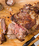 Marinated and Grilled Mediterranean Leg of Lamb