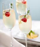 Spring Thyme Sparkling Cocktail