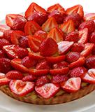 Strawberry Rye Tart