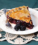 Beckmann's Boysenberry Pie