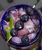 Blueberry Lavender Lemonade Cocktail