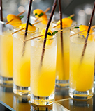 Spiced Mango Apricot Cocktail