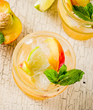White Peach Summer Sangria