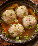 Mexican Matzo Ball Soup