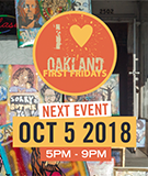 Oakland Art Murmur and First Fridays