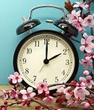Spring forward! Daylight Saving Time begins tonight.