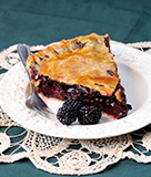 On the Fly Blackberry Pie