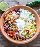 Turkey Burrito Bowls