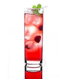 The Raspberry Gin Rickey