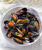Mussels Dijonnaise for Bastille Day