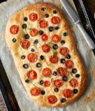 Focaccia-Style Sheet Pan Pizza