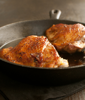 Canal House Style Chicken Thighs with Lemon