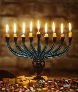 Happy Hanukkah from Piedmont Grocery!