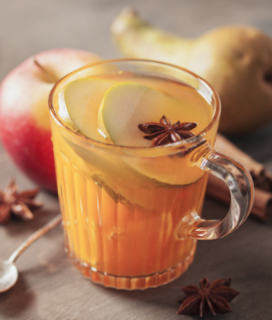Mulled White Wine