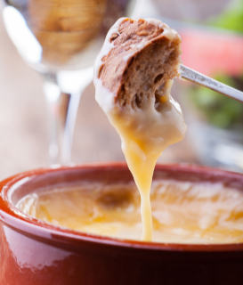 Brie and Fig Fondue