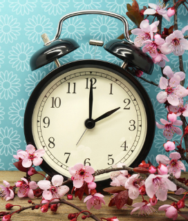 Spring Forward! Daylight Saving Time Begins Tonight!