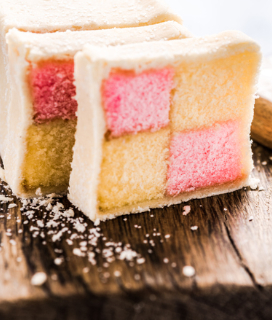 Amy's Almost Battenburg Cake