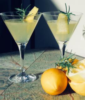 The S.O.S Cocktail (Sprig o' Spring)