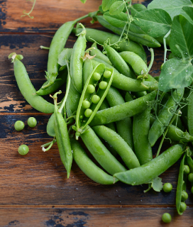 Green Pea Salad with Pea Shoots and Tarragon