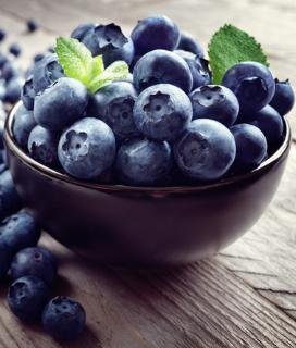Blueberry Salsa à la Amy