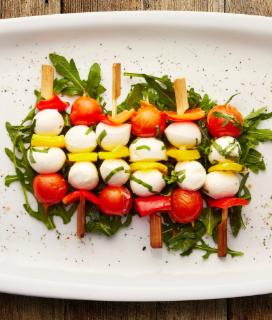 Caprese Vegetable Kabobs