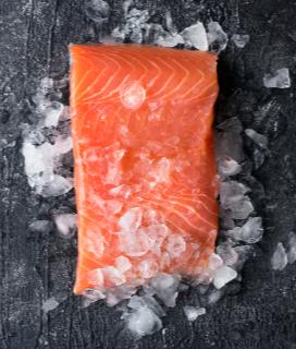 Marinated Salmon Kabobs