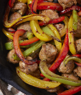 Sausages & Peppers
