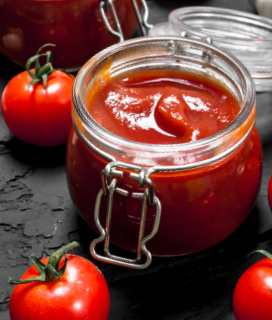 Roasted Tomato Ketchup