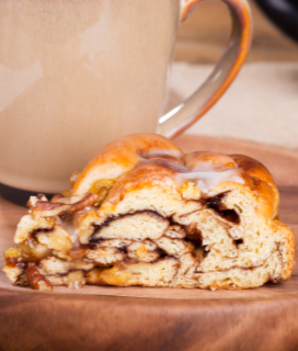 Cinnamon Apple Twist Bread Recipe